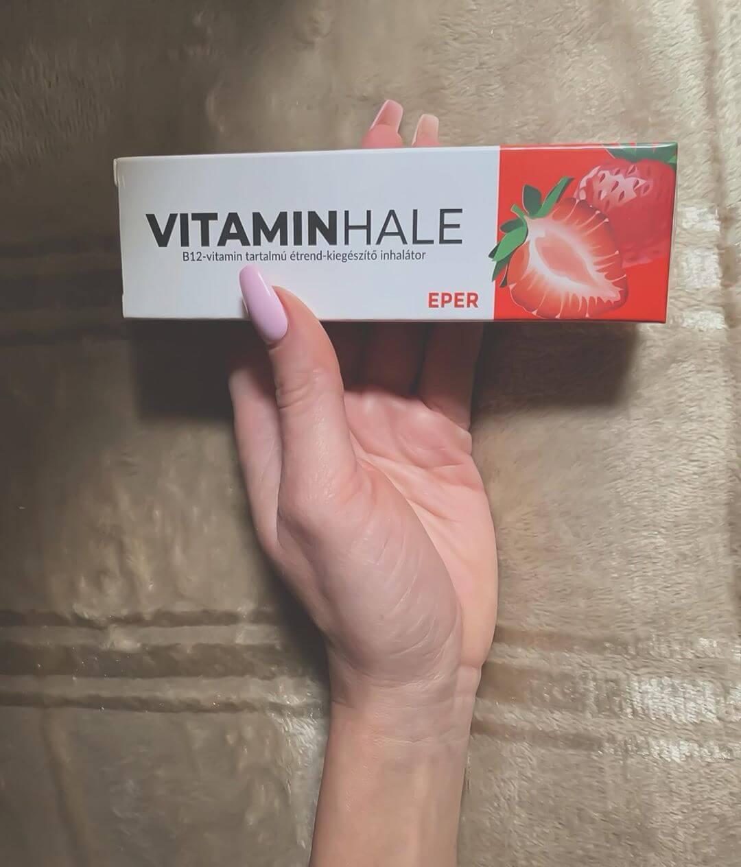 VitaminHale - Arculattervezés